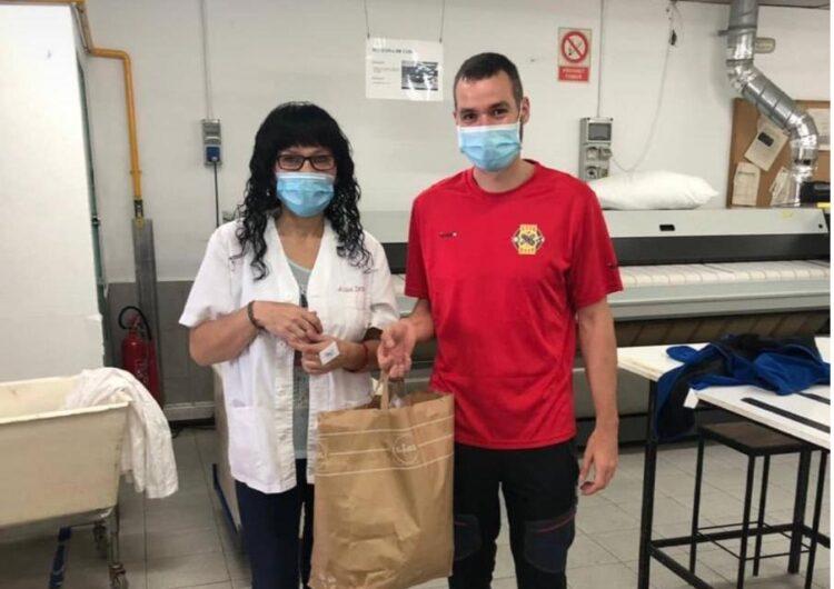 Tàrrega envia 200 mascaretes per als refugiats de les illes gregues