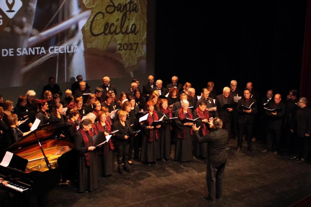 IMATGE D'ARXIU · Concert de Santa Cecília 2017 a Tàrrega