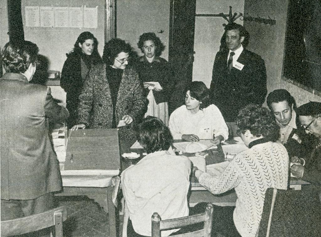 IMATGE D'ARXIU · Eleccions municipals a Tàrrega l'any 1979 · Foto Calafell