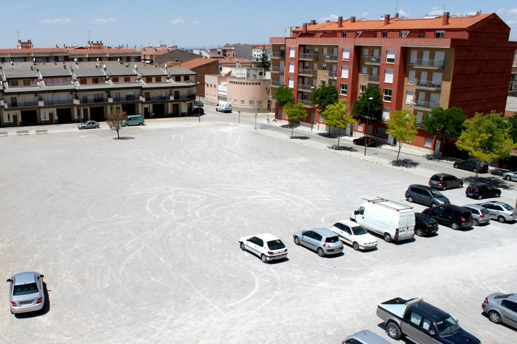 IMATGE D'ARXIU · Plaça de les Bòbiles de Tàrrega