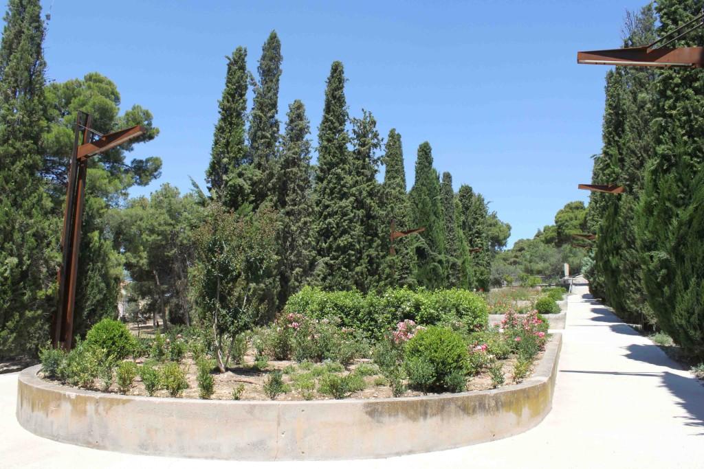 IMATGE D'ARXIU · Un dels accessos al Parc de Sant Eloi