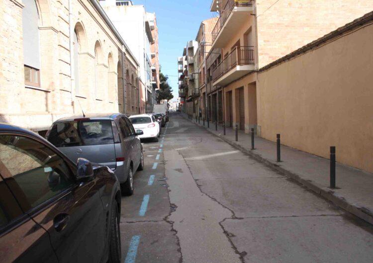 L'Ajuntament de Tàrrega iniciarà dilluns vinent les obres de renovació del carrer de Jacint Verdaguer