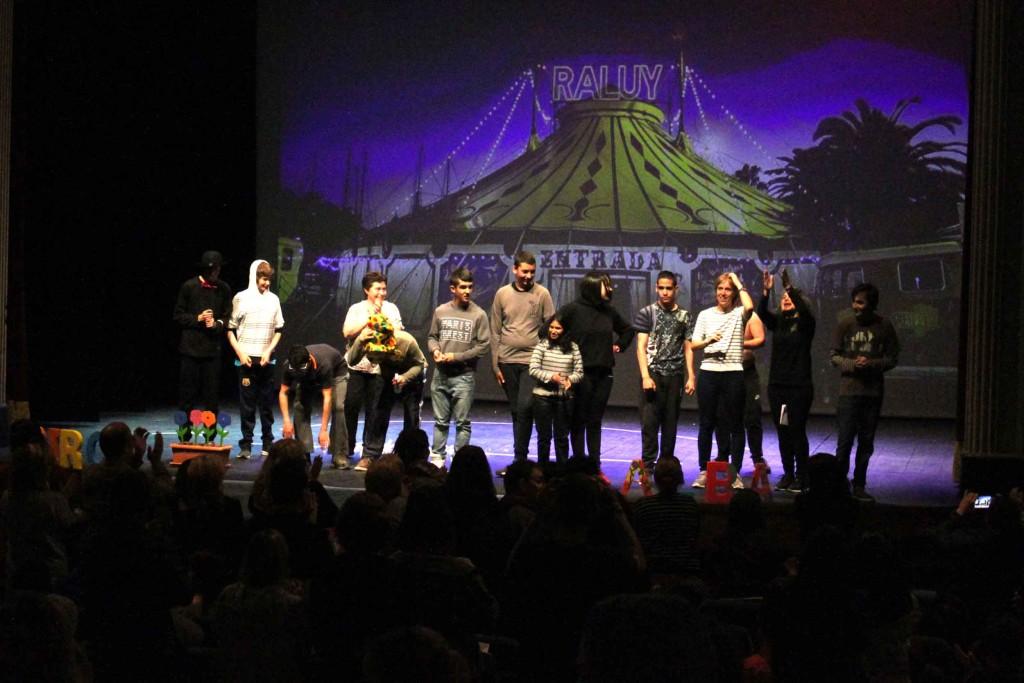 L'Escola Alba, a la 1a Mostra Escolar de Teatre