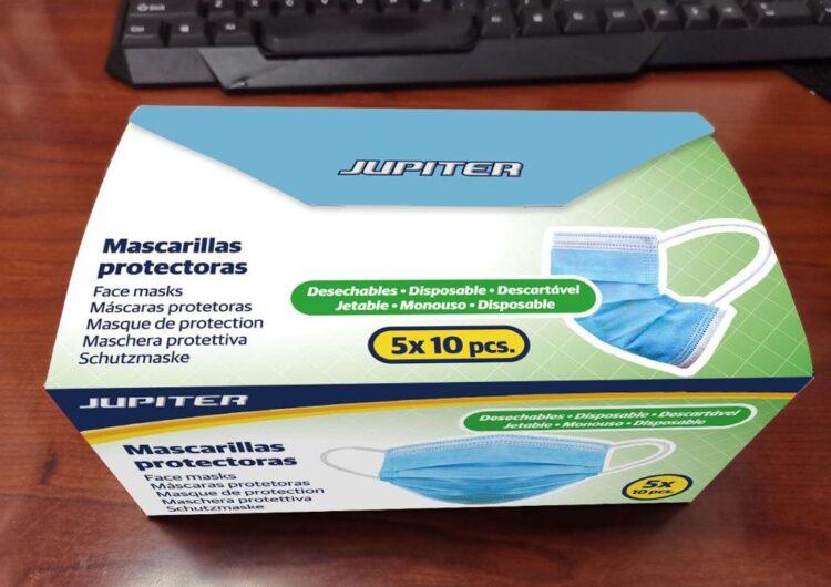 La Diputació compra 50.000 mascaretes i 1.200 ulleres de protecció per ajuntaments i consells comarcals