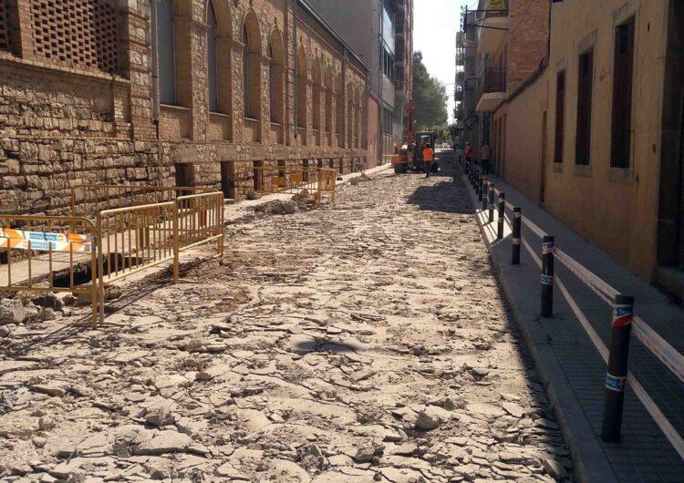 Tall de trànsit a la  C-14 a Tàrrega els dies 16 i 17  per les obres de renovació del carrer de Jacint Verdaguer