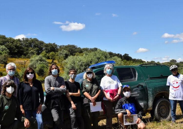 Presenten el projecte de gestió ambiental Lluçà d'una zona natural situada entre La Figuerosa i Altet