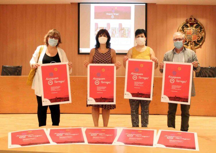 Campanya per fomentar la reactivació del teixit comercial i empresarial de Tàrrega