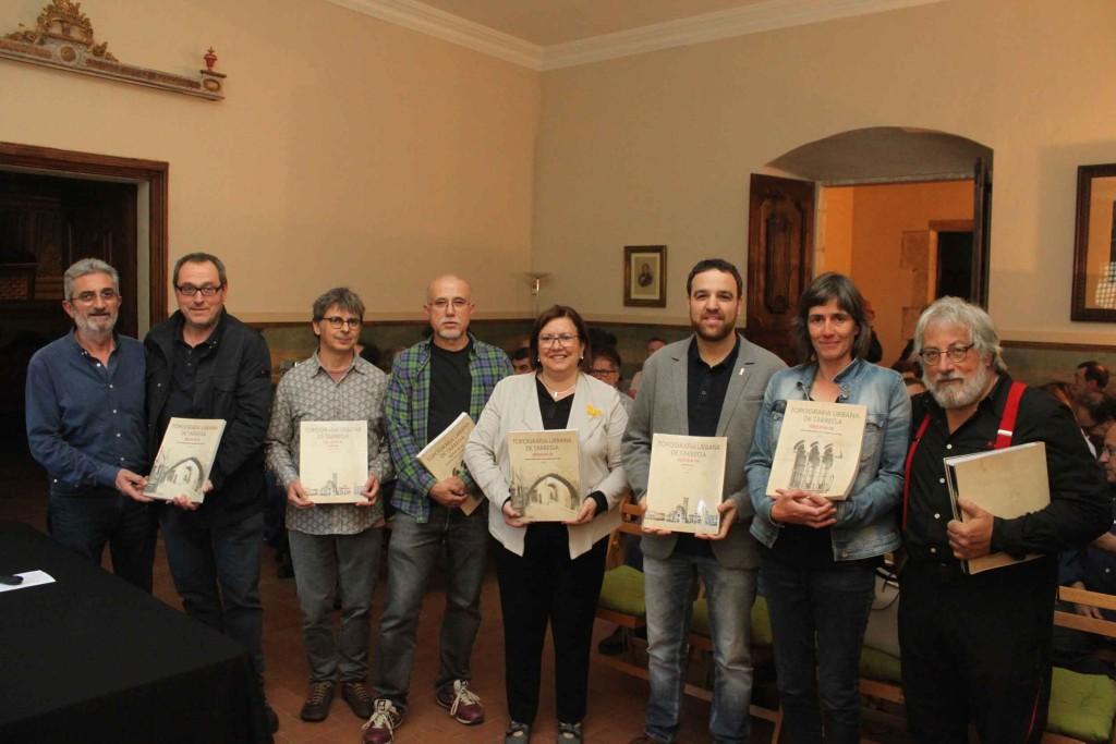 Presentació del llibre a les Sales Nobles del Museu Tàrrega - Urgell