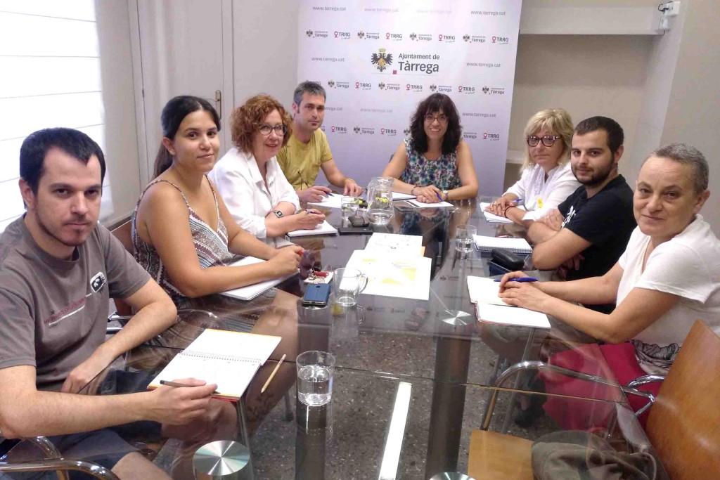 Reunió de treball de l'Equip de Govern de Tàrrega