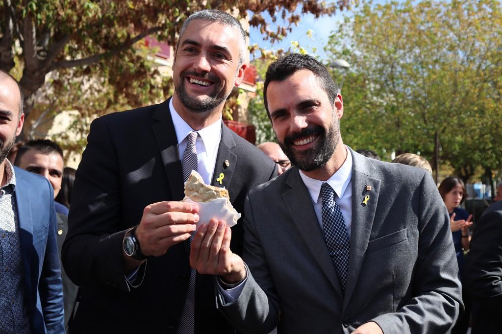 Roger Torrent i Bernat Solé