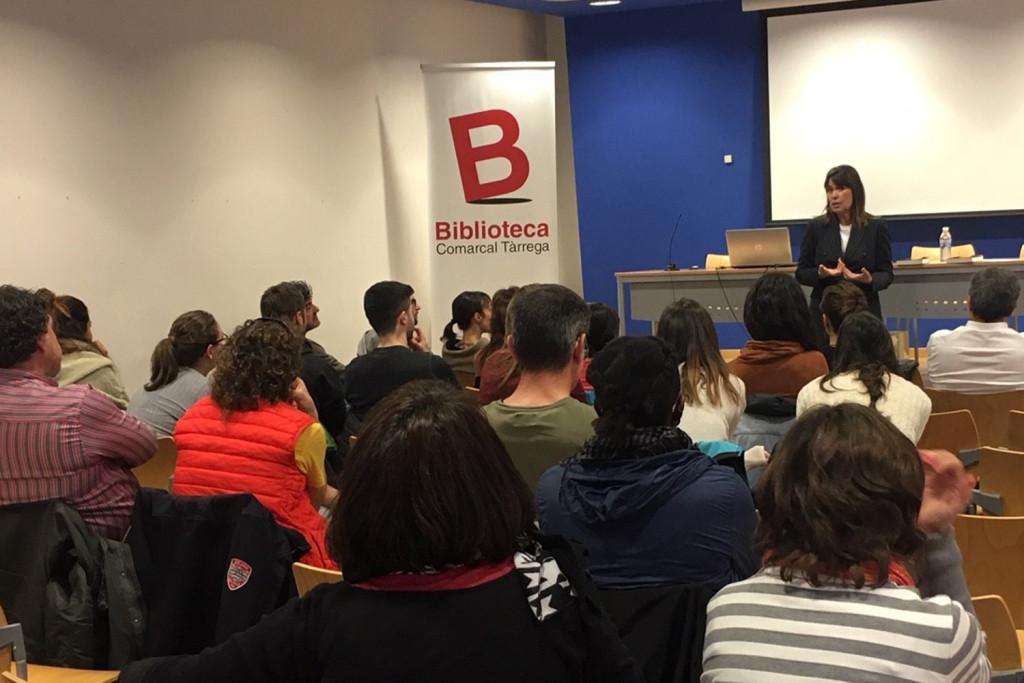 Sessió impartida a Tàrrega per Mabel Lozano (1)