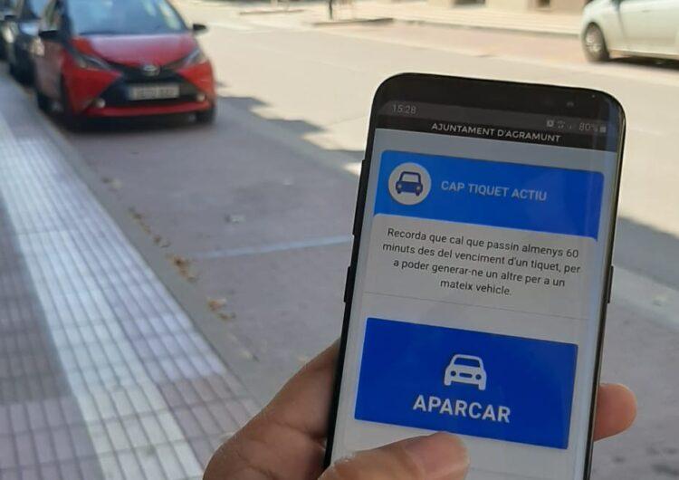Agramunt disposa d'una versió digital del rellotge de control d'aparcament