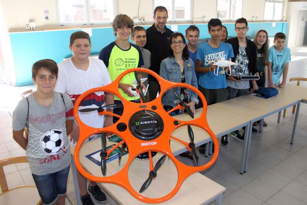Taller de drons de l'Estiu Jove de Tàrrega
