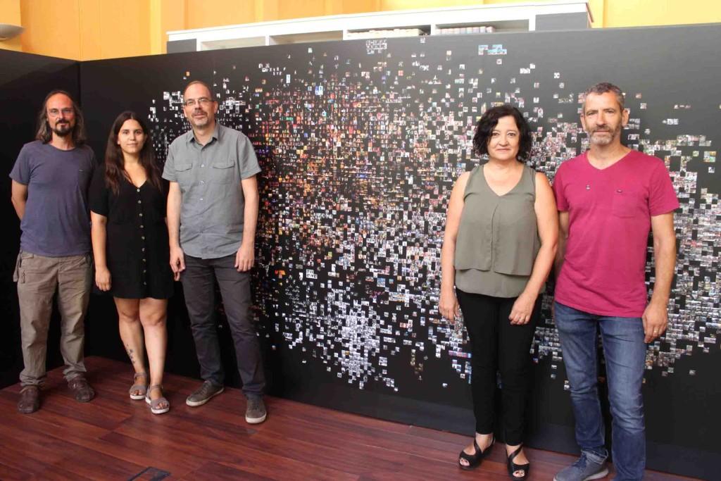 Treball de Pilar Rosado a l'Arxiu Comarcal de l'Urgell