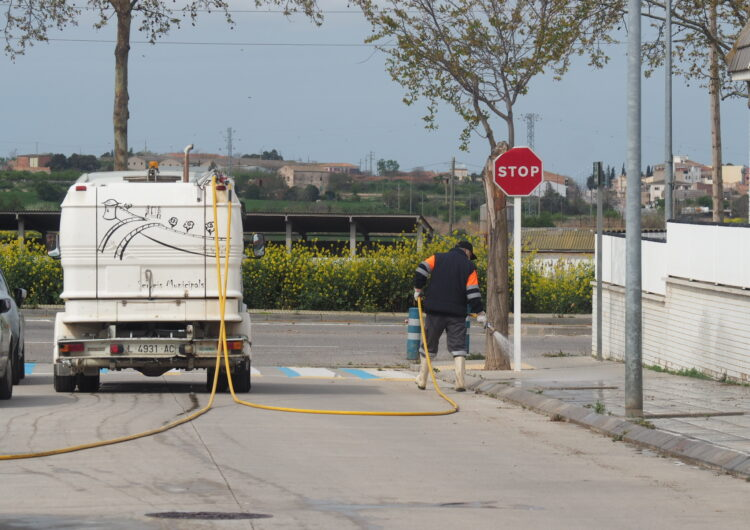 L'Ajuntament de Tàrrega fixa els treballs essencials de la plantilla municipal mitjançant un decret d'alcaldia