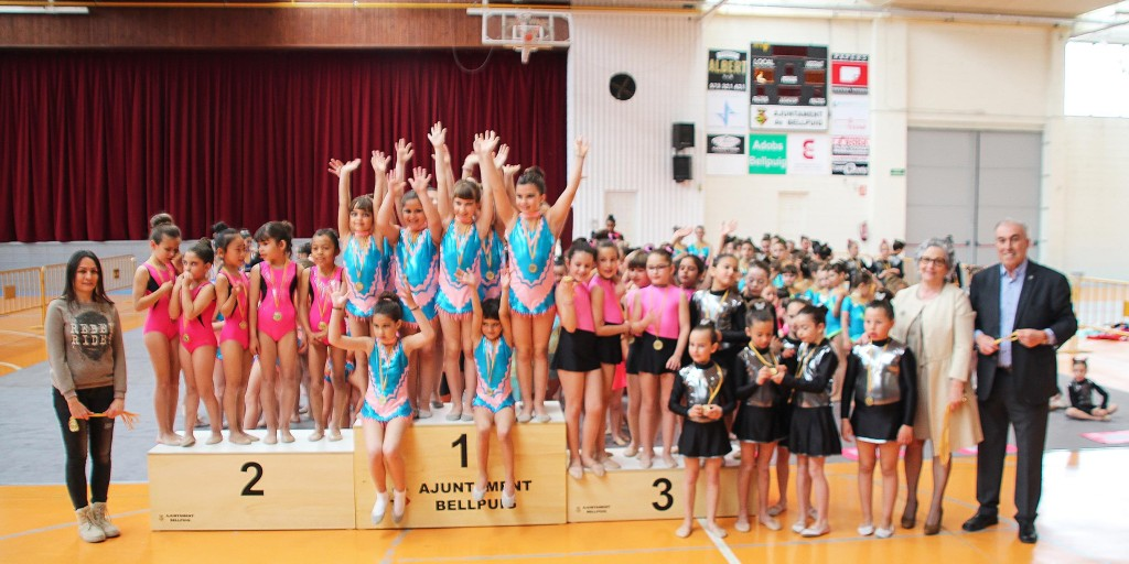 Trofeu de Gimnàstica Rítmica Club Ippon de Bellpuig 2