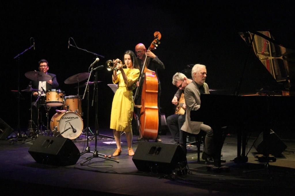 Un instant del concert d'Andrea Motis a Tàrrega
