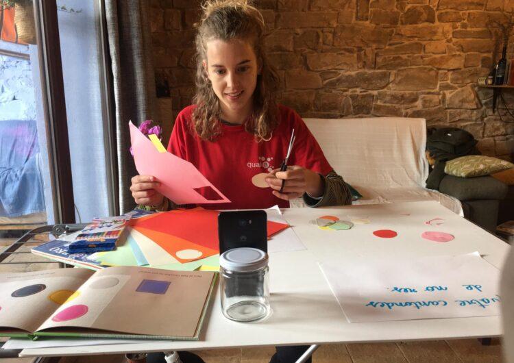 Lleure Quàlia oferirà un casal online per Setmana Santa i inicia extraescolars en directe des d'Instagram