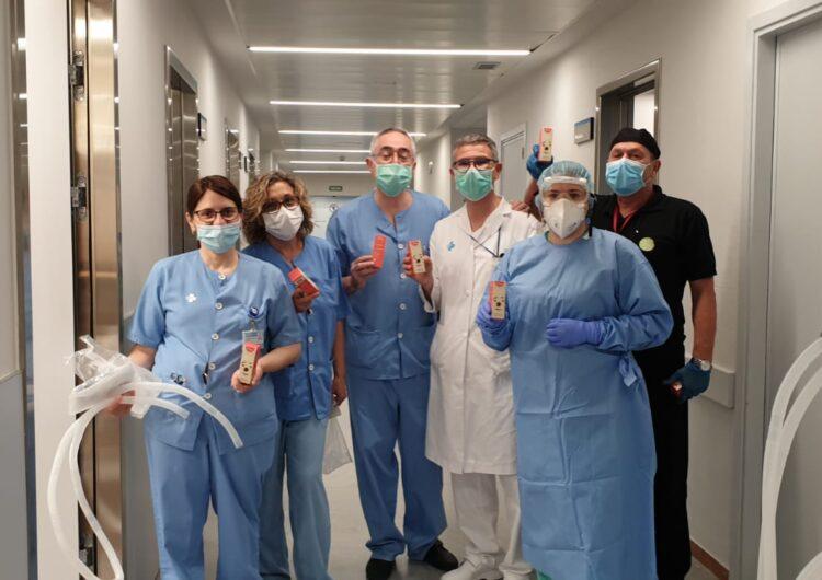 El Rosal i el Grup Alba envien 210 caixetes d'arrugats als sanitaris de l'Arnau de Vilanova de Lleida