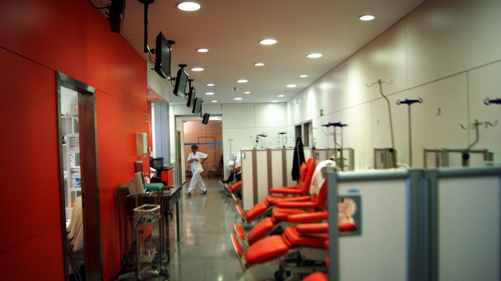 Imatge general de la zona de l'hospital de dia de l'Arnau de Vilanova. Imatge cedida el 3 de febrer del 2018 (horitzontal)