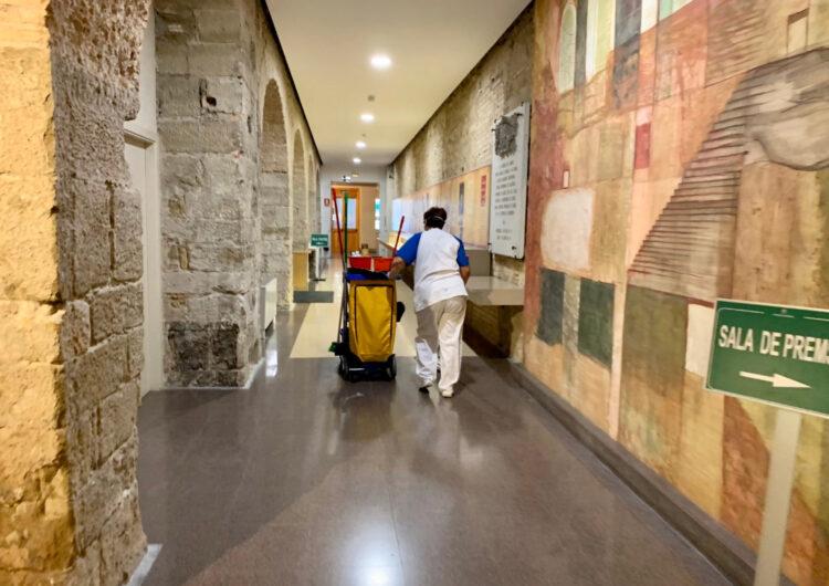 La Diputació de Lleida inicia la desinfecció dels seus edificis i instal·lacions