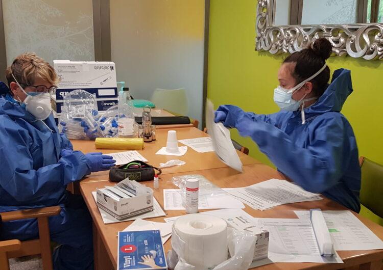Salut comença a dur a terme tests ràpids a residències geriàtriques d'Àger, la Fuliola, la Pobla de Segur i Vielha