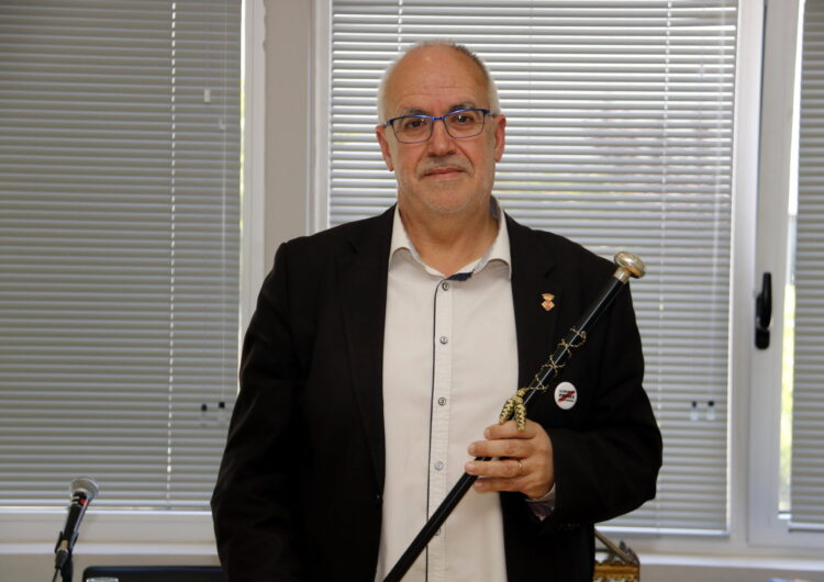 Joan Santacana d'ERC  nou alcalde de Cervera després de guanyar la moció de censura contra Ramon Augé