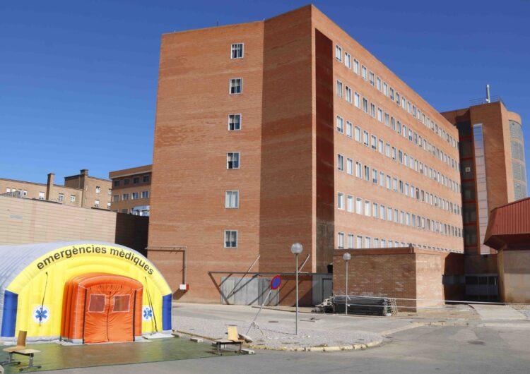 S'eleven a 152 els hospitalitzats per covid-19 a la regió sanitària de Lleida, una desena més que diumenge