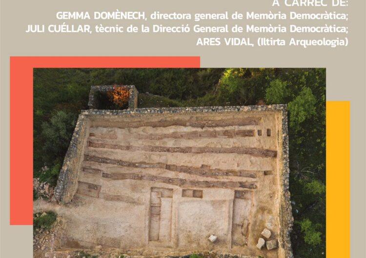 Nova conferència telemàtica del Museu Tàrrega Urgell sobre les fosses comunes de la Guerra Civil
