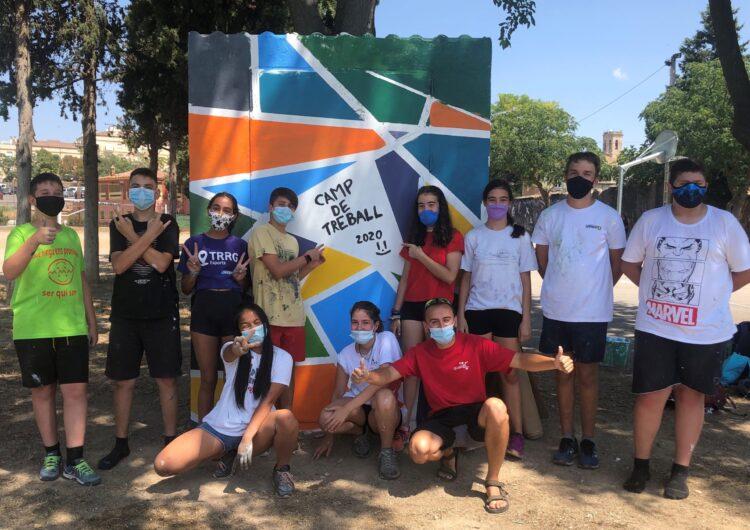 Clou amb èxit la primera experiència de voluntariat juvenil del Camp de Treball Local de Tàrrega