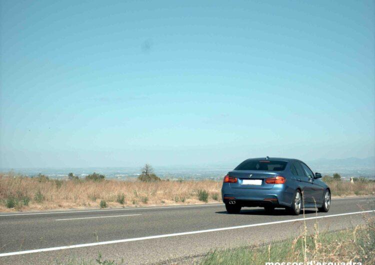 Denunciem penalment un conductor que circulava a 189 km/h per la C-14 a Ciutadilla (Urgell)