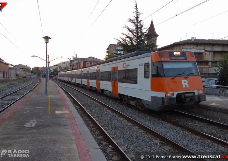 Alcaldes, alcaldesses i càrrecs electes d'ERC insisteixen en reclamar millores a la línia R12