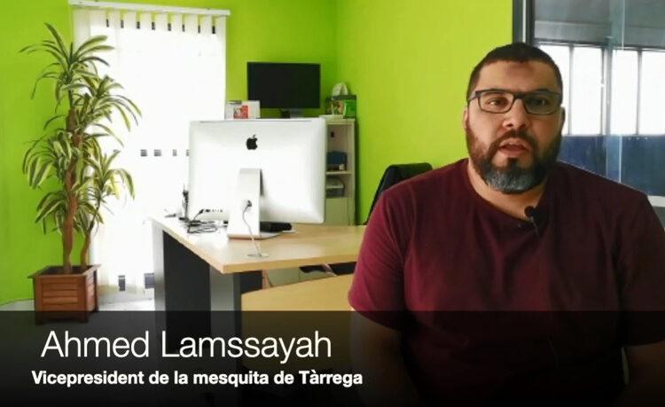 La comunitat musulmana de Tàrrega divulga dos vídeos en àrab i amazic amb recomanacions sanitàries davant la pandèmia