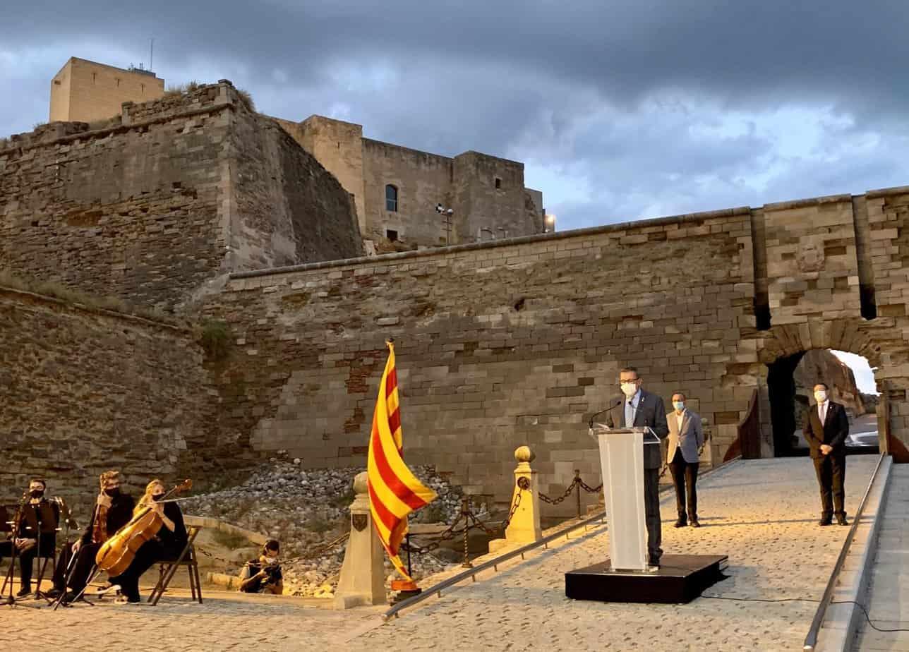 """Joan Talarn: """"Malgrat la pandèmia, Catalunya continua reivindicant un projecte col·lectiu de llibertat que ha portat els nostres representants a la presó i l'exili"""""""