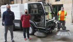 Ros Roca cedeix temporalment al municipi de Tàrrega una màquina…