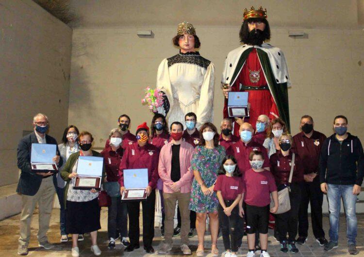 Tàrrega homenatja els Gegants de la Mercè amb motiu del seu 150è aniversari