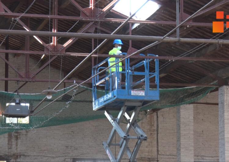 En marxa les obres per preservar les cobertes de tres naus del Museu Trepat de Tàrrega