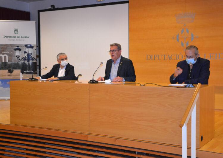 La Diputació presenta plans de suport als ajuntaments i en l'àmbit de la salut per a les properes anualitats per un valor de 34 M€