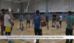 El sènior masculí de bàsquet del CNT reforça la plantilla…