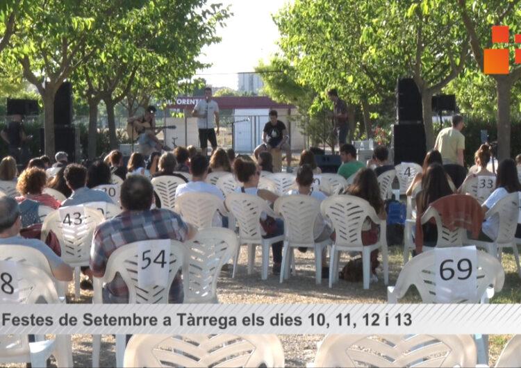 Les Festes de Setembre a Tàrrega oferiran una vintena de propostes de música, arts i cultura popular