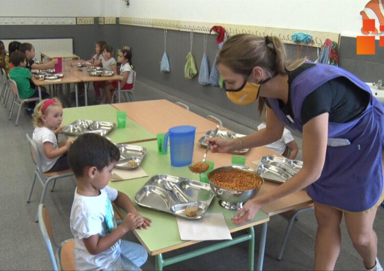 Menjadors escolars de l'Urgell, la Segarra i la Noguera registren poques baixes d'alumnes tot i la covid-19