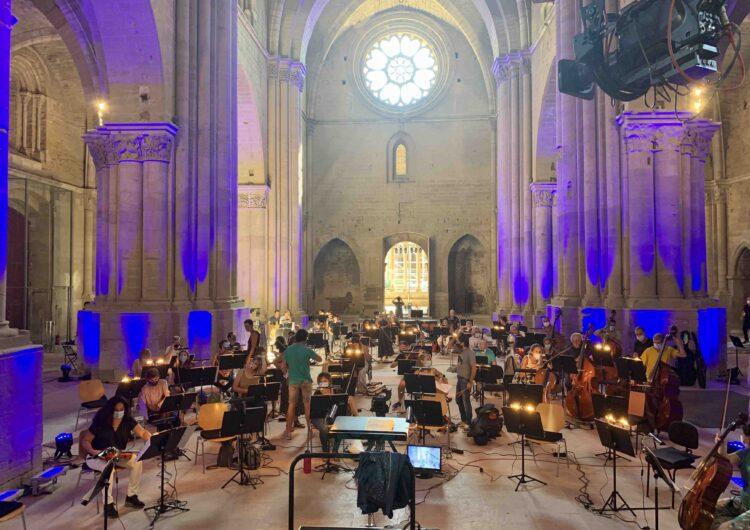 Tot a punt a La Seu Vella pel concert 'Essencial' en record a les víctimes de la COVID-19 i d'homenatge al col·lectiu sanitari