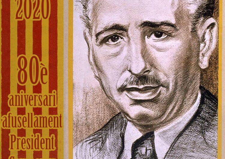 Acte en homenatge i record del President Lluís Companys