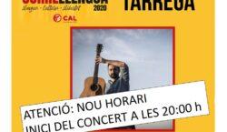 El concert de Feliu Ventura previst per divendres vinent s'avança…