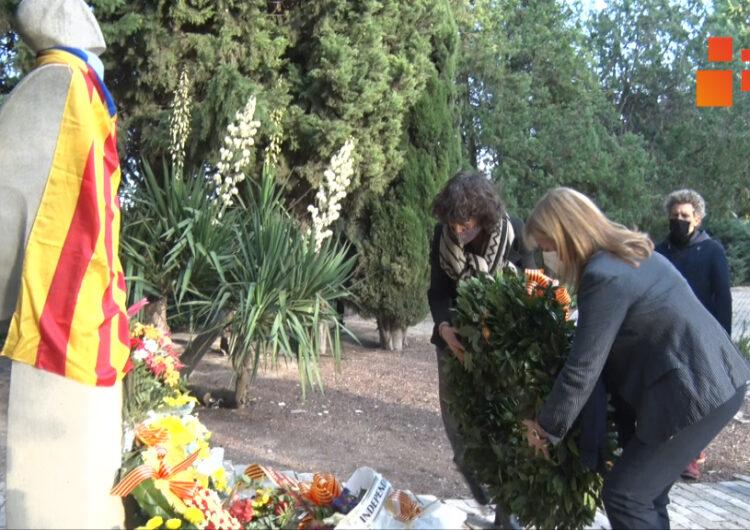 Ponsa i Jordà reivindiquen al Tarròs la figura del president Companys