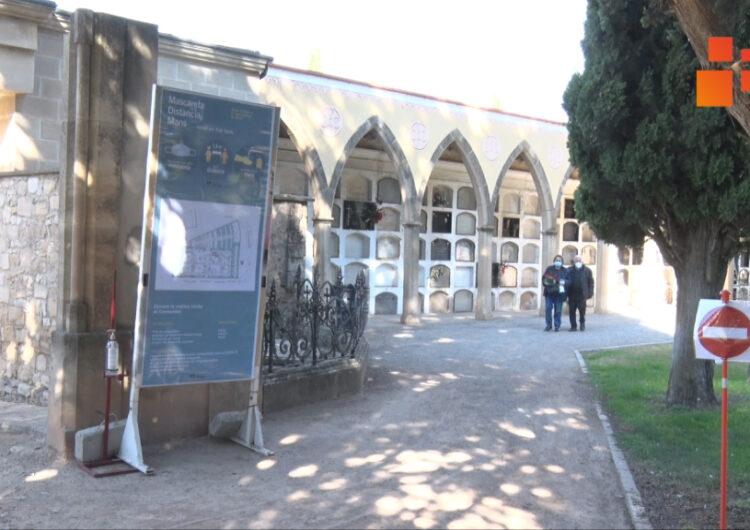 L'Ajuntament de Tàrrega senyalitza itineraris al cementiri per evitar aglomeracions per Tots Sants