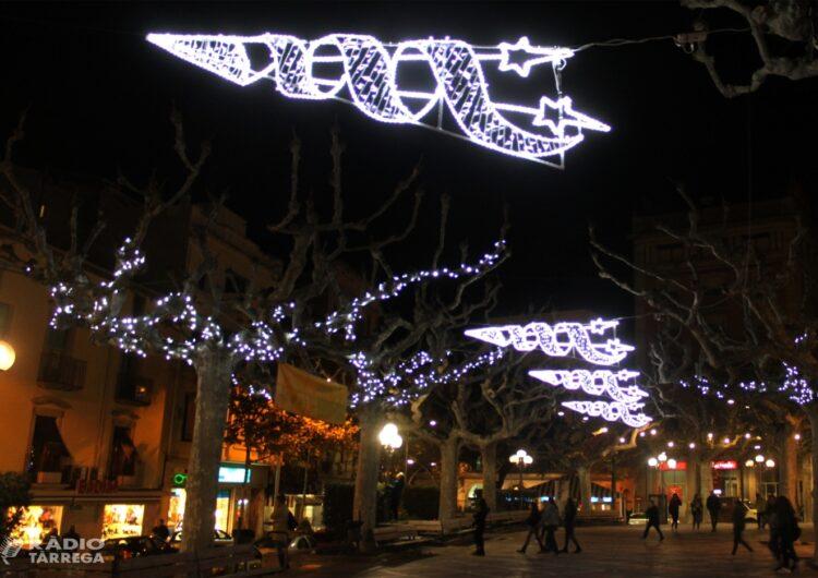 L'Ajuntament de Tàrrega es farà càrrec de la instal·lació de l'enllumenat de Nadal dels carrers de la ciutat aquest any