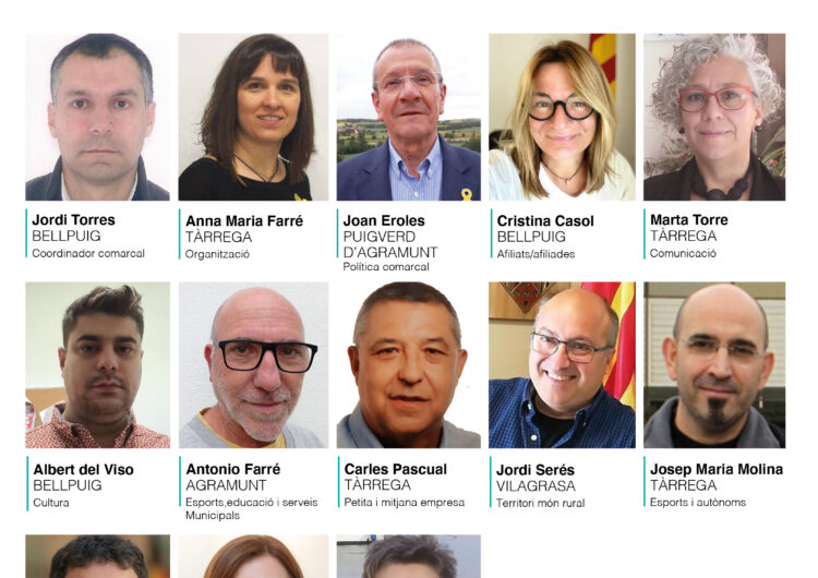 Junts per Catalunya escull la seva executiva a l'Urgell