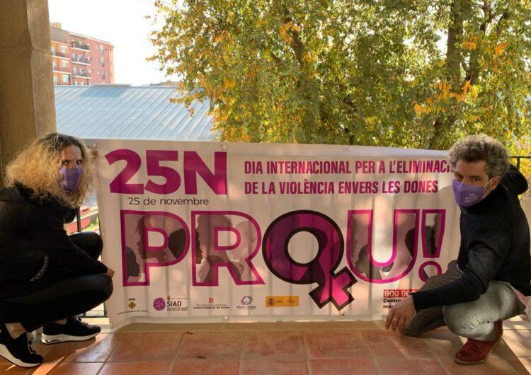 El Consell Comarcal de l'Urgell se suma  als actes de commemoració del Dia internacional per a l'eliminació de la violència contra les dones.