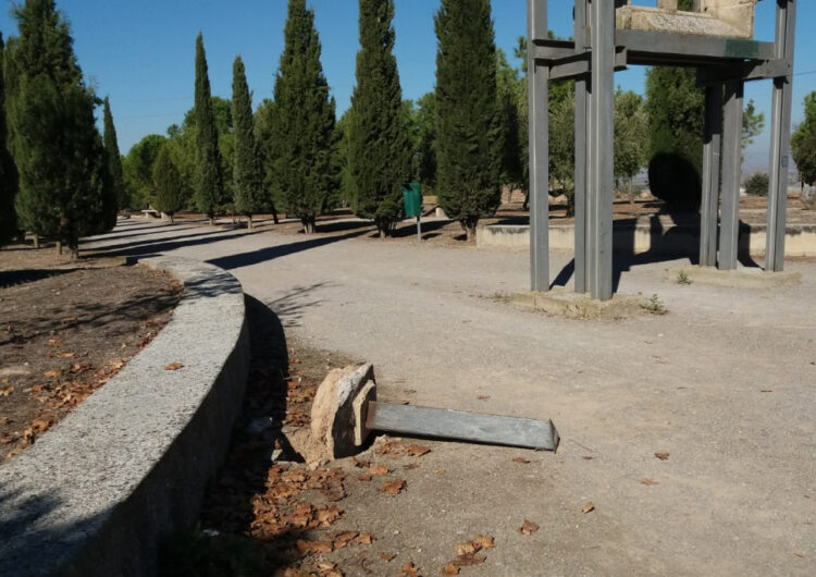 Actes vandàlics contra mobiliari urbà al Parc de Sant Eloi